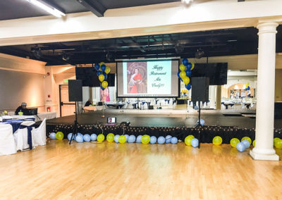 Main Ballroom & Stage