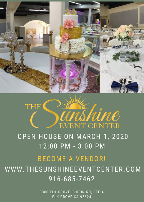 Join us for The Sunshine Open House